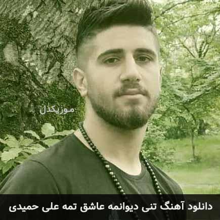 دانلود اهنگ تنی دیوانمه عاشق تمه علی حمیدی