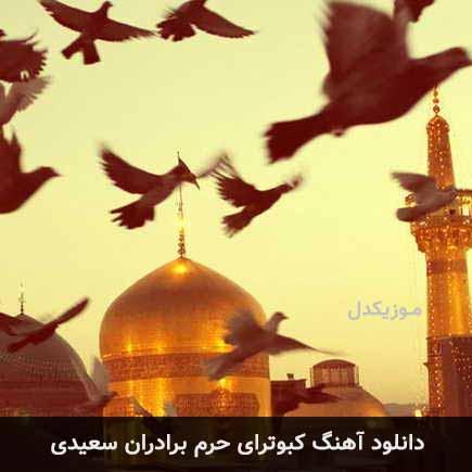 دانلود اهنگ کبوترای حرم برادران سعیدی