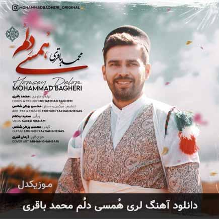 دانلود اهنگ هُمسی دلُم محمد باقری